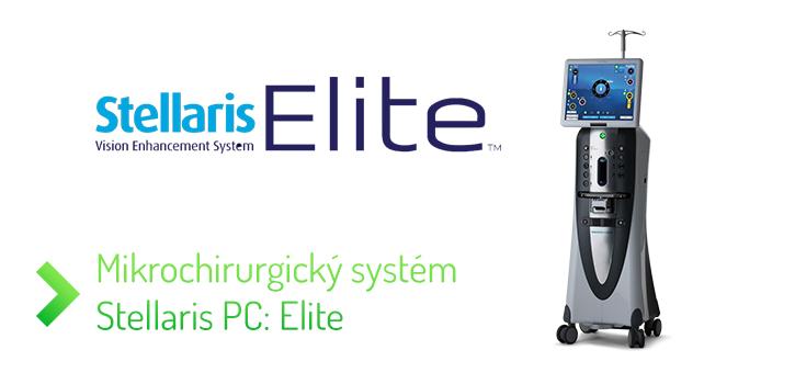 Mikrochirurgický systém Stellaris PC: Elite