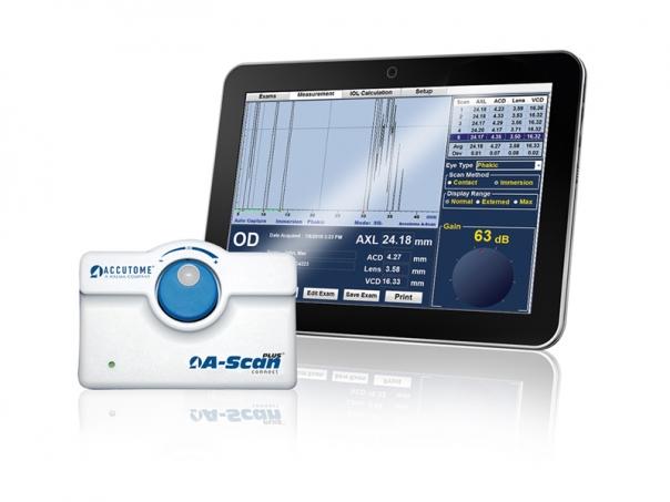 Ultrazvukový přístroj A-Scan Plus Connect