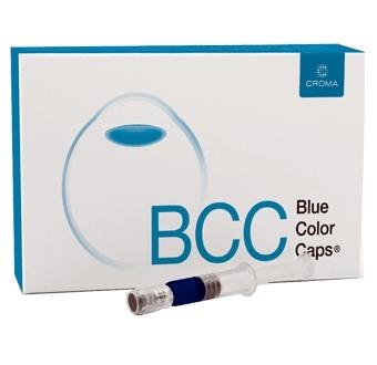Blue color caps